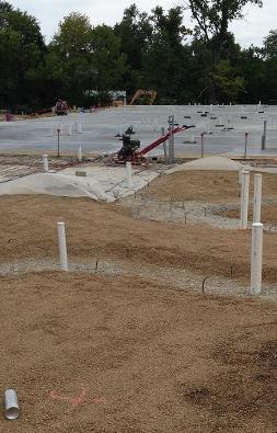 termite soil treatment preparation stages